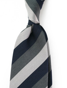Multi Stripe Navy & Grey
